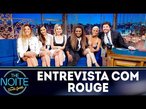 Entrevista com Rouge | The Noite (05/09/18)