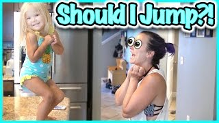 😵 Will Rory JUMP?!?!  😵 AND WE DO THE DEAD BUG! SMELLY BELLY TV VLOGS