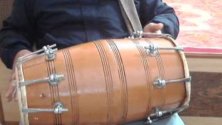 How to play dholak lesson 8 Alankar of Kaharwa: the te ta 2 tirkita dha