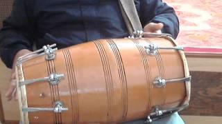 How to play dholak lesson 8 Alankar of Kaharwa: the te ta 2 tirkita dha