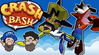 SERIOUS PARTY GAMES || Crash Bash || HOBO BROS