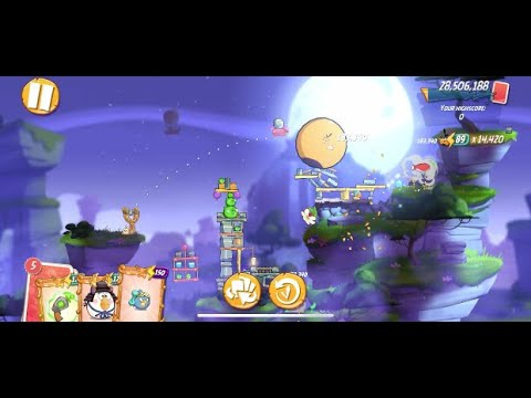 Angry Birds 2 - Clan Battle With Bubbles - January 24, 2020