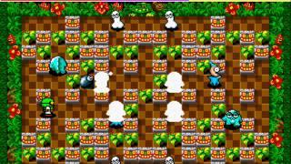 Bomberman/Dynablaster/Atomic Punk Netplay 4 player arcade game