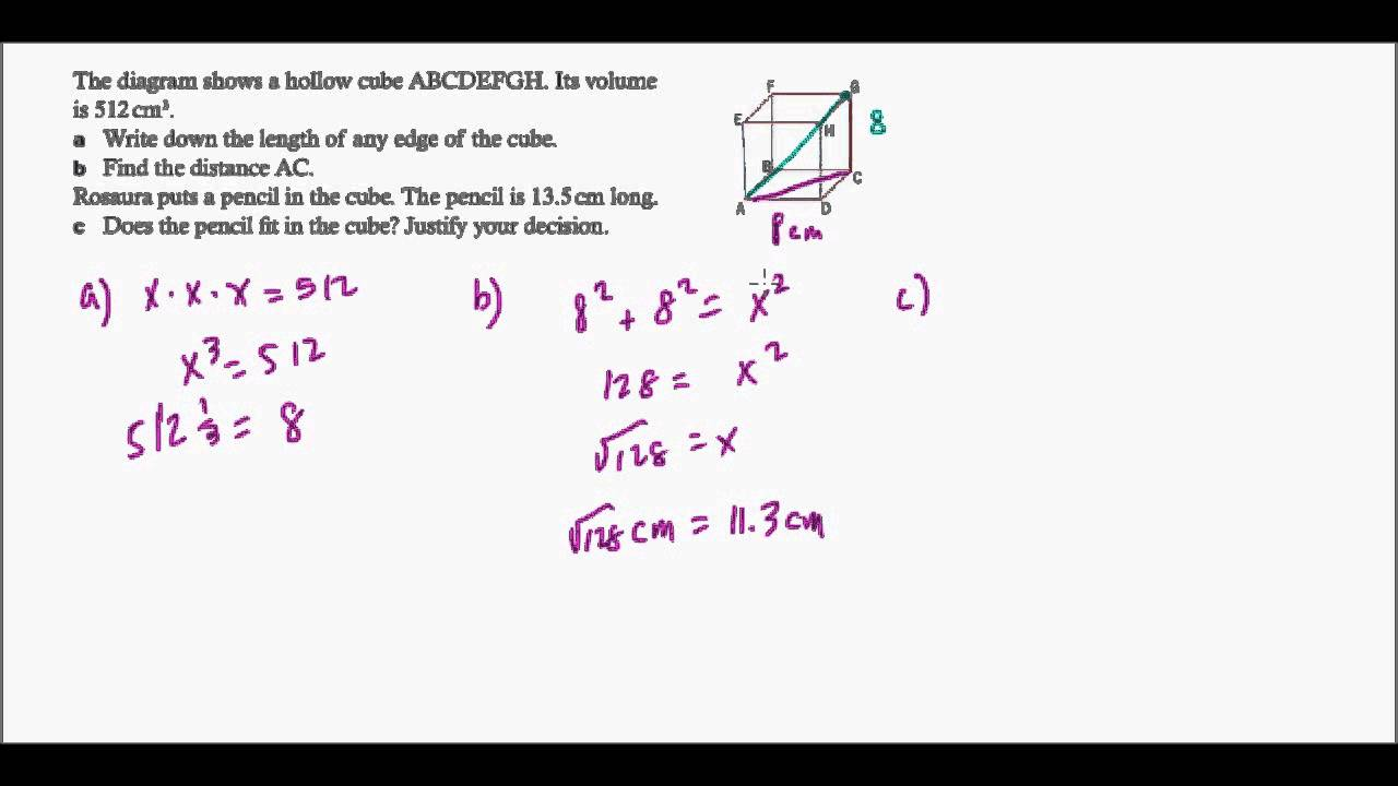 IB Math Studies Topic 5 Revision: Geometry and