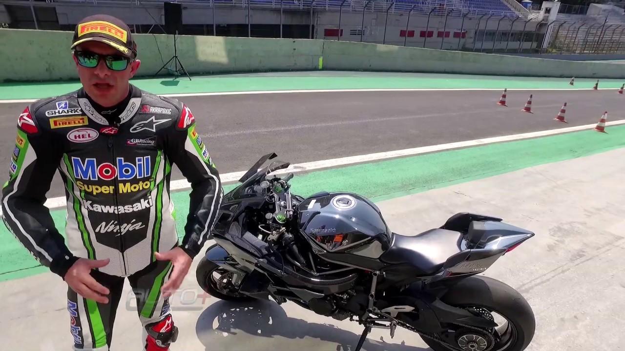 Bruno Corano - Kawasaki Ninja H2R - Moto+