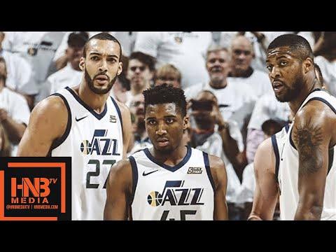 Oklahoma City Thunder vs Utah Jazz 1st Half Highlights / Game 4 / 2018 NBA Season