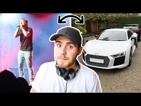 GETTING AN AUDI R8 & SEEING ED SHEERAN LIVE!