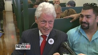 New Haven Hillary Bill Clinton kampanya