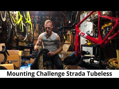 Mounting Challenge Strada Tubeless Tires  (handmade) on Yoeleo Wheels