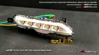 exLED All New Tucson DRL 2Way Sequential Upgrade Module