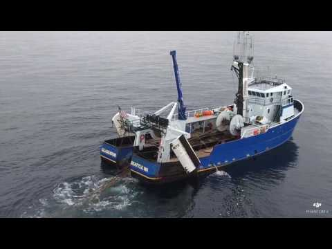 Commercial Fishing In Alaska Caught On Film By Drone