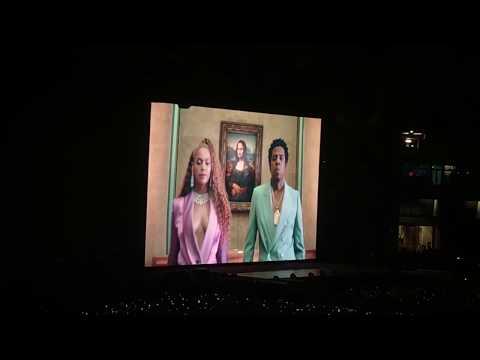Beyoncé & Jay - Z OTR II - APESH*T + EVERYTHING IS LOVE Album Release LONDON 2018