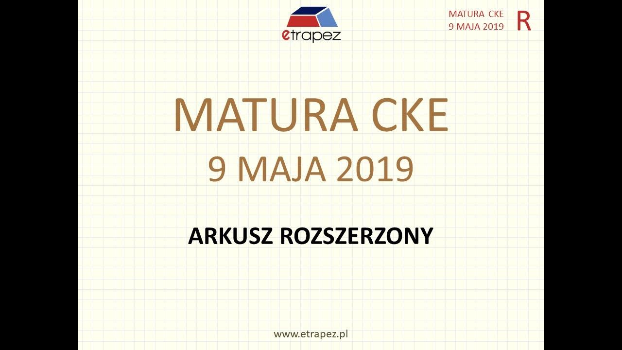 matura 2021 maj matematyka rozwiązania