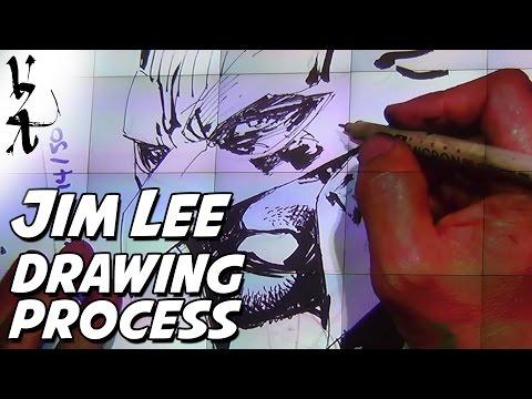 Jim Lee - Drawing Process