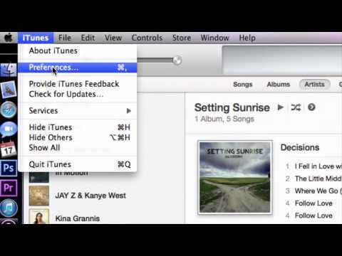 How To Add Multiple Accounts To One ITunes Library : How To Use ITunes