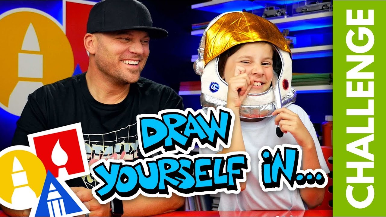 Challenge-Time: Draw Yourself In... (7.13.19)