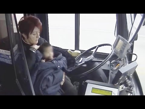 Shotgun Taylor - Bus Driver Rescues Toddler Running Down Sidewalk Alone