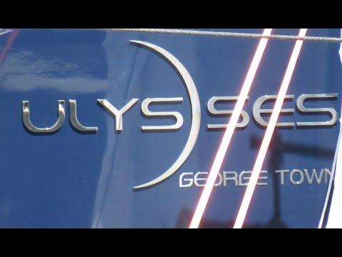 """Mega -Explorer- Yacht """"Ulysses """"  (116m) - In Bremerhaven with Tender & Boat"""