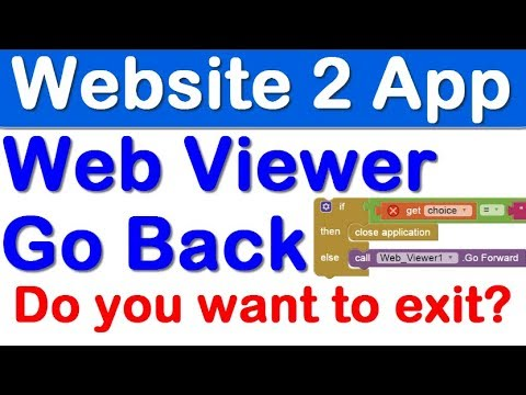 Website to Apk, Hindi Android App Tutorial, back button pressed website history go back and forward  #Smartphone #Android