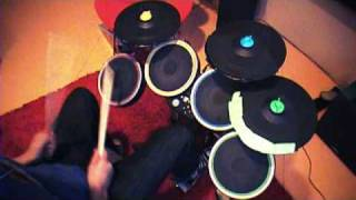 Freestyle with Madcatz Cymbals in Rock Band 2