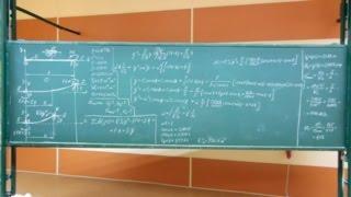 Сопротивление материалов. Y-03 (консольная сжато-изогнутая балка, точный метод расчёта).