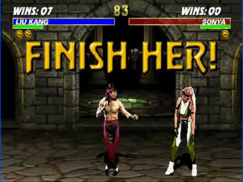 mortal kombat finish her porn