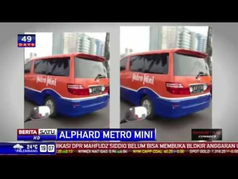 Gila!! modifikasi Mobil Alphard Menjadi metromini
