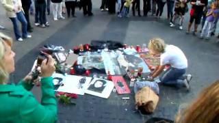 Michael Jackson Trauer in Bremen 11