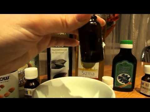 Маска для укрепления корней волос с эфирным маслом