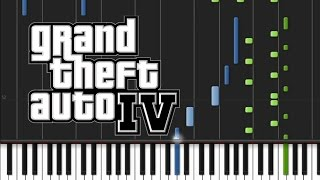 GTA 4 - Main Title Theme [Piano Tutorial] (♫)