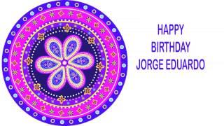 Jorge Eduardo   Indian Designs - Happy Birthday