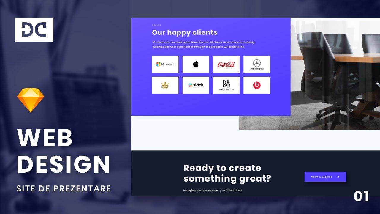 Tutorial de Web Design - Site de prezentare   Web Design 101