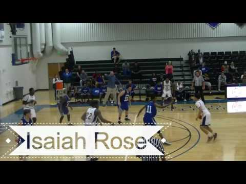 Isaiah Rose Frank Phillips College Men's Basketball 2016-2017