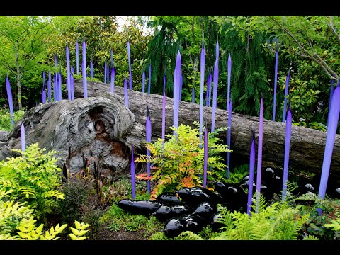 Visiting Chihuly Garden and Glass, Art Museum in Seattle, Washington ...