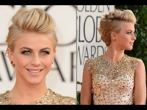 Mohawk Updo Julianne Hough Inspired Updo Celebrity Inspired Collab