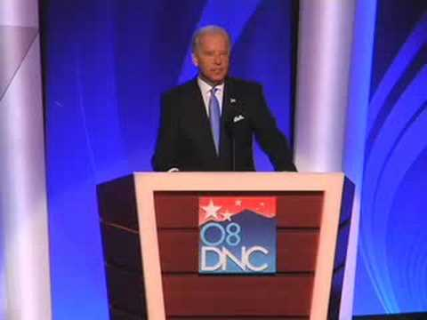 Joe Biden accepts the Democratic Party