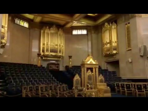 David Bowie's Life on Mars played on Grand Temple pipe organ of Freemasons' Hall, London