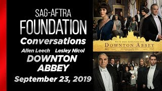 Conversations with Allen Leech & Lesley Nicol of DOWNTON ABBEY