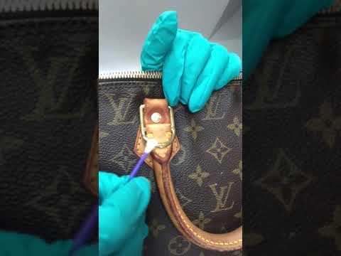 How to remove rust on LV handbag hardware