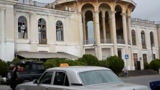 Абхазия  Новый Афон  сентябрь 2015 г(Абхазия. Новый Афон. Крошечный городок населением около 1500 человек. Лежит в ущелье реки Псырцсха между гора..., 2016-02-13T20:13:36.000Z)