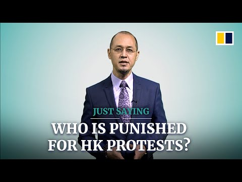Look who is being punished for the Hong Kong protests, and who is not