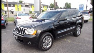 2009 Jeep Grand Cherokee Limited 4.7L 4X4 Walkaround, Start up, Tour and Overview