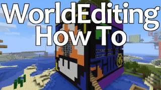 WorldEditing How To: Schematics 2: Electric Boogaloo [Minecraft Tutorial]