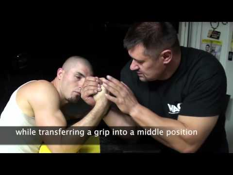 How to win in Arm wrestling. Tips from the Champ.