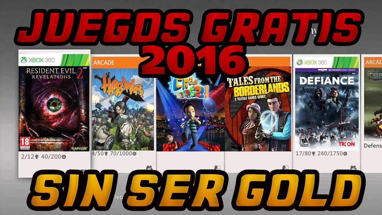 16 Juegos Gratis Xbox 360 Sin Ser Gold Lista Completa 2016 Youtube