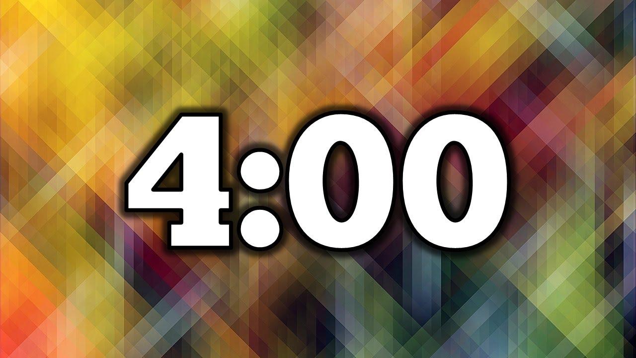 timer 4 min