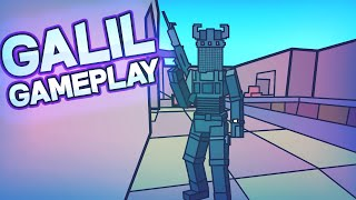 YOU NEED TO TRY THIS GUN! Bad Business Galil Gameplay (ROBLOX)