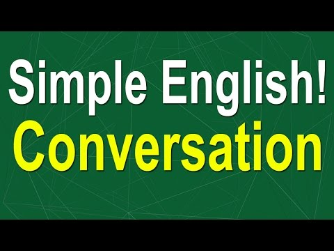 Simple English Conversation - Learn English Speaking Easily