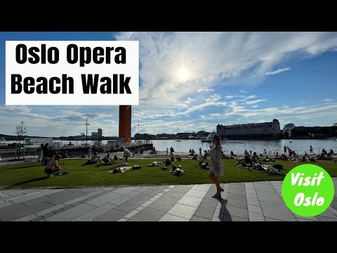 Visit Oslo : Opera Beach Oslo