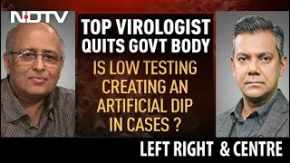 Low Testing Creating Artificial Dip In India's Covid Surge? | Left, Right \u0026 Centre